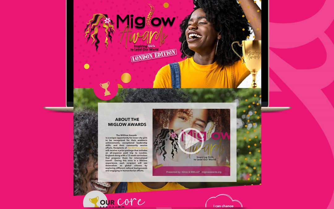 MiGlow Awards Website